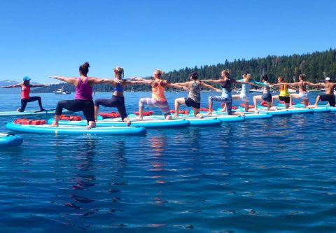 Waterman's Landing, SUP Yoga