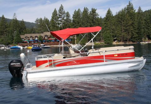 Sunnyside Water Sports, Rent a 24' Pontoon