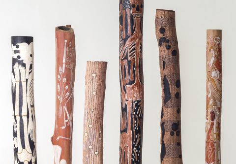 Nevada Museum Of Art, The Inside World: Contemporary Aboriginal Australian Memorial Poles from the Debra and Dennis Scholl Collection
