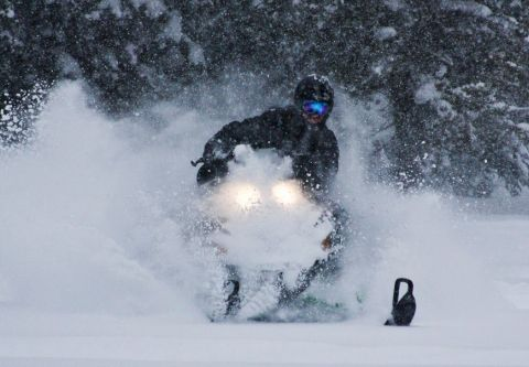 Lake Tahoe Snowmobile Tours, Private Summit Snowmobile Adventure