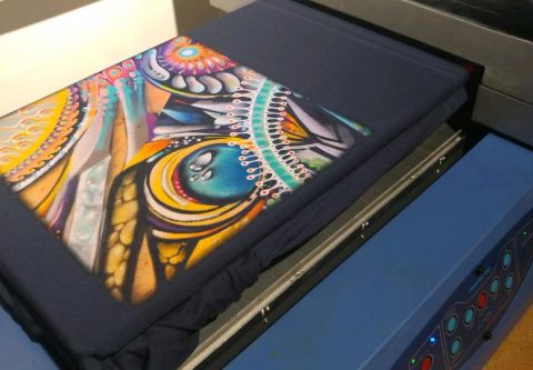 Benko Art Gallery, Custom Apparel Printing