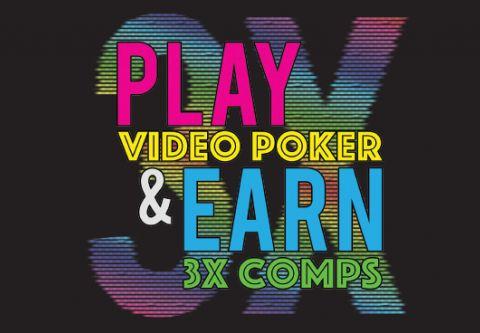 Montbleu Resort Casino & Spa, 3x Comps On Video Poker Machines
