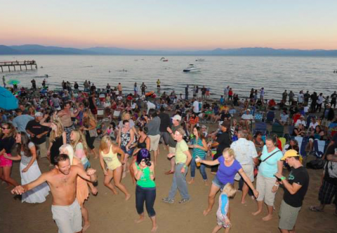 North Tahoe Business Association, Music at the Beach