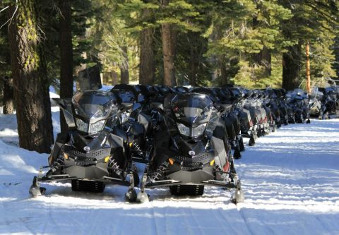 Lake Tahoe Snowmobile Tours, Group Summit Snowmobile Adventure