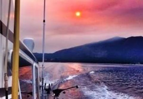Tahoe Sport Fishing, Evening Private Fishing Charter from Zephyr Cove Resort