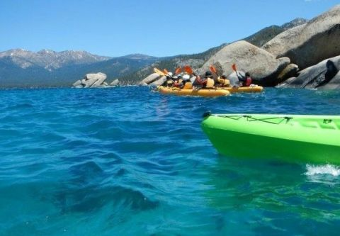 Tahoe City Kayak and Paddleboard, Sand Harbor Kayak Tour