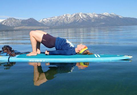 Lake Tahoe Yoga, Stand Up Paddle Yoga