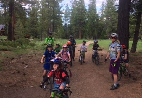 Tahoe Cross Country Center, Junior Mountain Riders