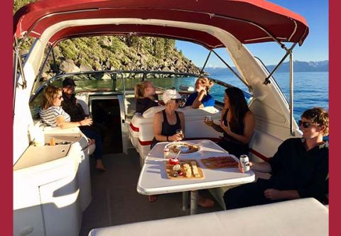 Stellar Tahoe Luxury Boating, Bar Hopping Boat Charter