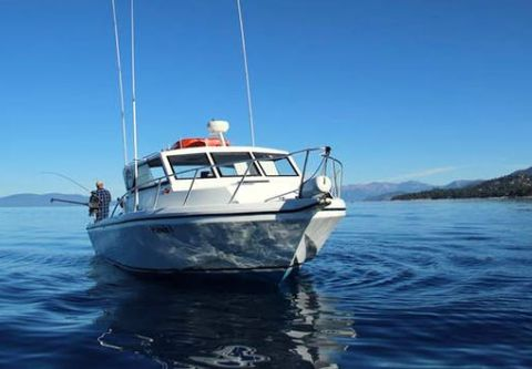 Tahoe Sport Fishing, Private Fishing Charter from Zephyr Cove Resort
