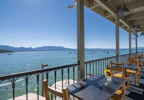 Tahoe Beach Retreat & Lodge, Waterfront Dining at Boathouse on the Pier