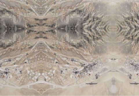 Nevada Museum Of Art, Andrea Zittel: Wallsprawl