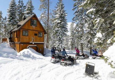 Coldstream Adventures, Daily Guided Snowmobile Tour - A.M. & P.M.