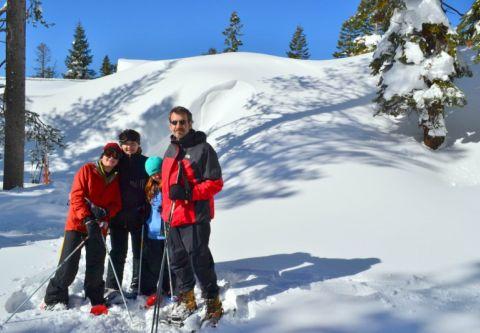 Clair Tappaan Lodge, Snowshoeing at Clair Tappaan