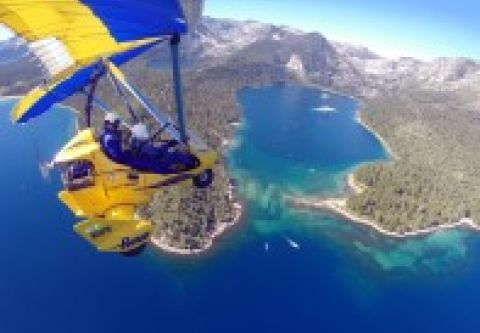 Hang Gliding Tahoe, TAHOE VIEW Hang Gliding