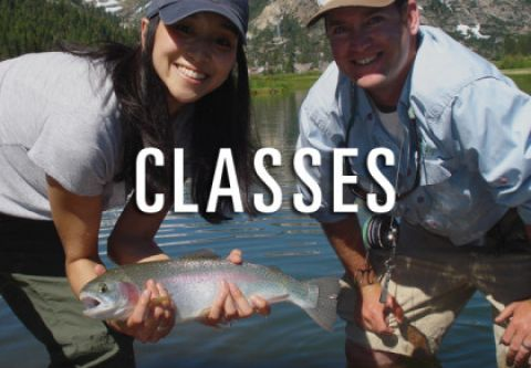 Trout Creek Outfitters, Daily Fishing Classes