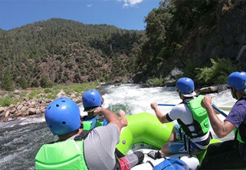 Raft California, American River (Middle Fork)