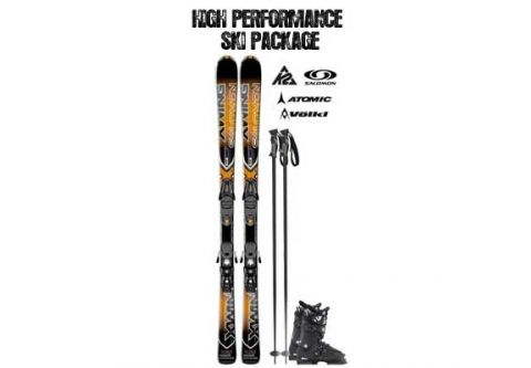 Powder House Ski & Snowboard, High Performance Ski Package