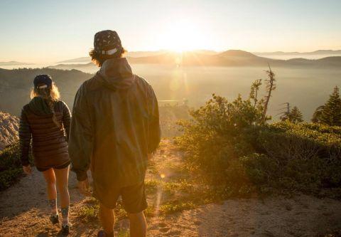 The Village at Palisades Tahoe, Walking and Hiking at Palisades Tahoe