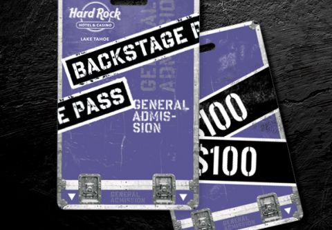Hard Rock Hotel & Casino, New Backstage Members | Pick a Card & Win!