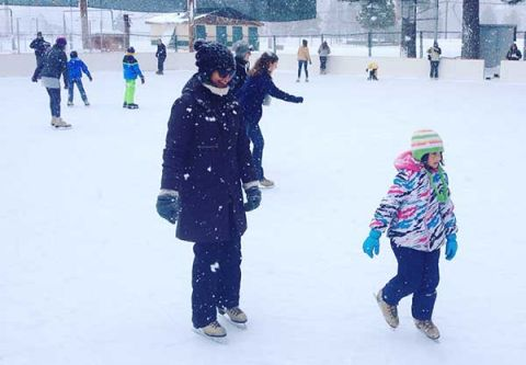 Truckee Donner Recreation & Park District, Ice Rink Parties with Warming Hut Rental