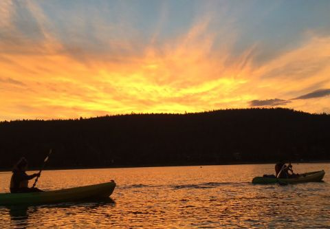 Tahoe City Kayak and Paddleboard, Sunset Kayak Tour