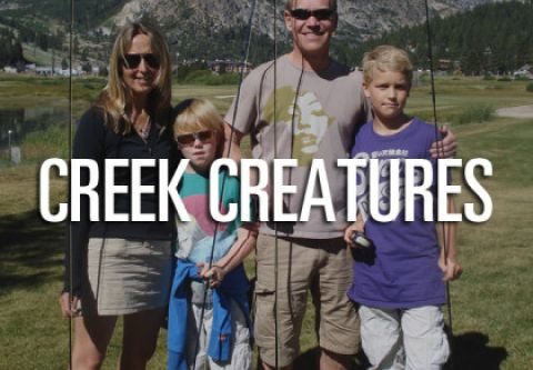 Trout Creek Outfitters, Creek Creatures Kid's Program