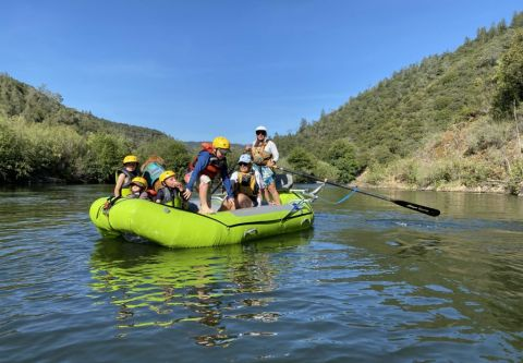 Raft California, American River (Lower Middle Fork)