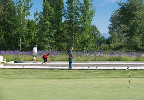 Historic Old Brockway Golf Course, Bocce Ball