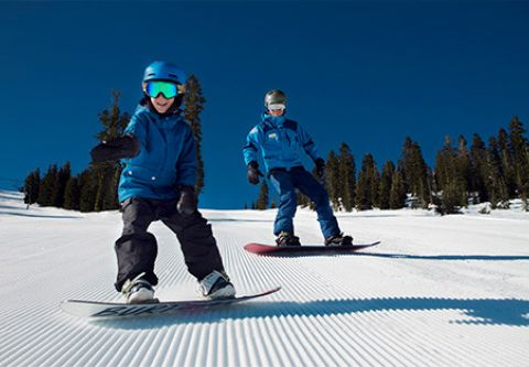 Sugar Bowl Resort, Children Group Lessons Ages 6-12