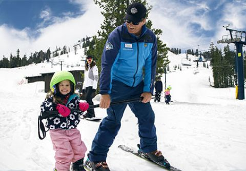 Sugar Bowl Resort, Children Group Lessons Ages 4-5
