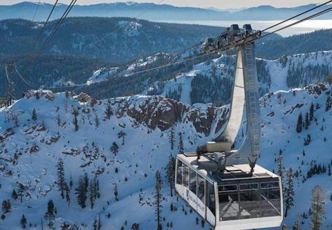 The Village at Palisades Tahoe, Palisades Tahoe Aerial Tram