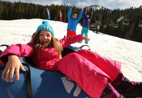 The Village at Squaw Valley, Snow Tubing