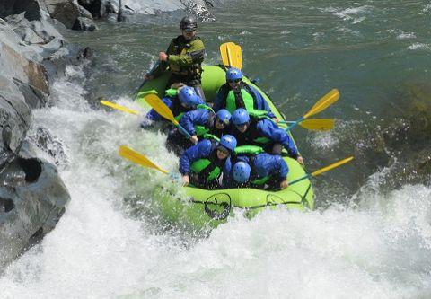 Raft California, American River (South Fork)