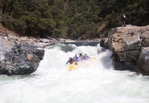 Raft California, North Yuba River