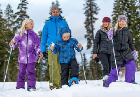 Northstar California Resort, Cross Country, Telemark & Snowshoe Center