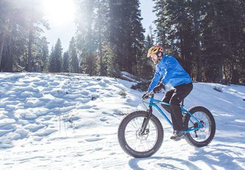 Northstar California Resort, Fat Tire Snow Biking