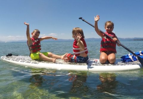 Incline Village Recreation & Tennis Center, Summer SUP Camps - Kids on Board
