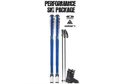 Powder House Ski & Snowboard, Performance Ski Package