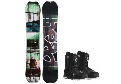 Powder House Ski & Snowboard, Performance Snowboard Package