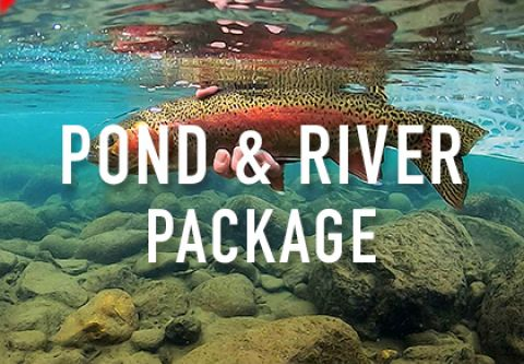 Trout Creek Outfitters, Pond & River Fishing Guide Package