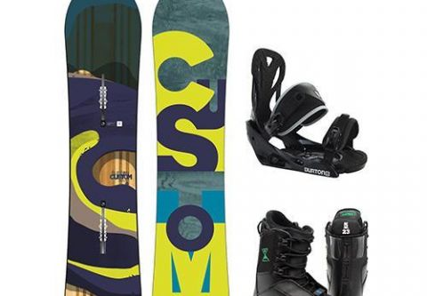 Tahoe Dave's, Children's Recreational/Performance Snowboard Packages