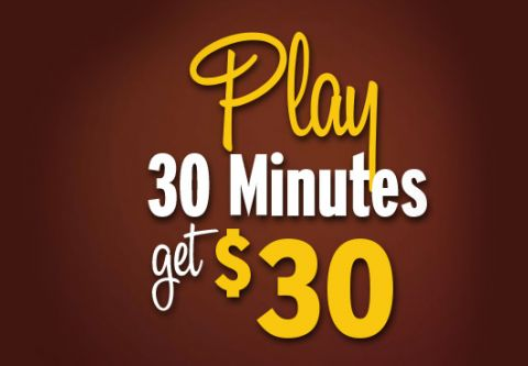 Montbleu Resort Casino & Spa, Play 30 Minutes Get $30