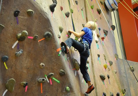 Truckee Donner Recreation & Park District, Climbing & Bouldering Wall