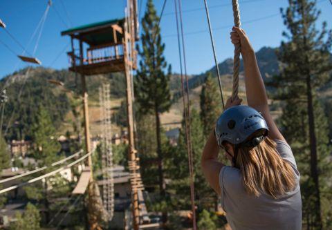 The Village at Palisades Tahoe, Lake Tahoe Ropes Course