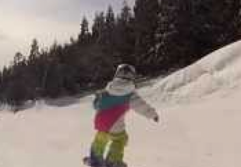 Tahoe Donner Downhill Ski Area, Snowboard Shredders School (ages 5 – 6)