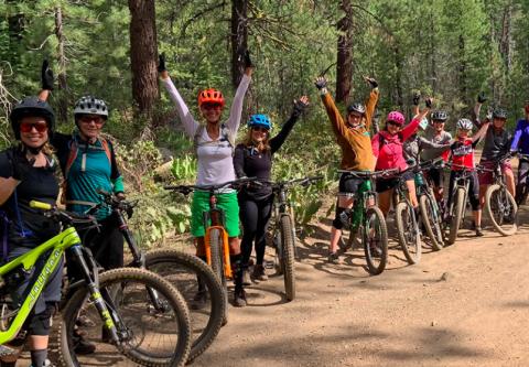 Tahoe Cross Country Center, Mountain Biking Clinics