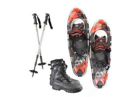 Powder House Ski & Snowboard, Snowshoe Package