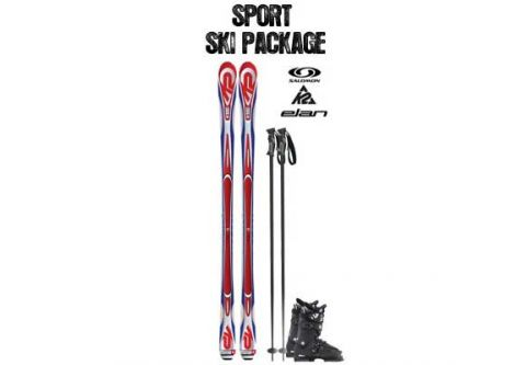 Powder House Ski & Snowboard, Sport Ski Package