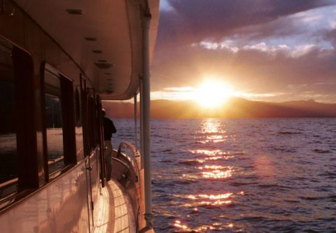 Tahoe Cruises Safari Rose, Sunset Champagne Cruise